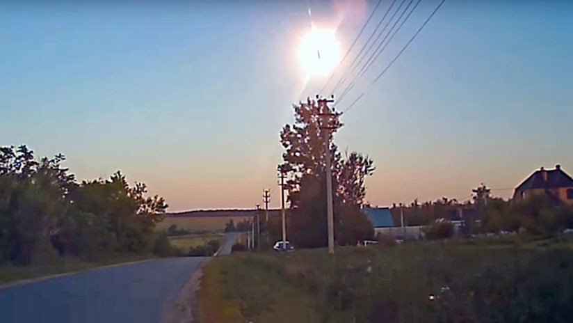VIDEO, FOTOS: Un objeto no identificado causa un brillante destello en el cielo