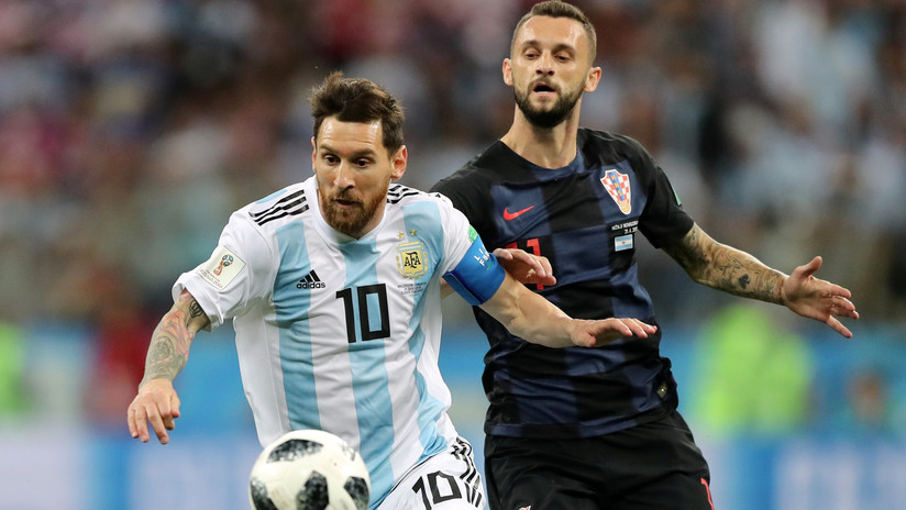 Argentina se estrella ante una contundente Croacia