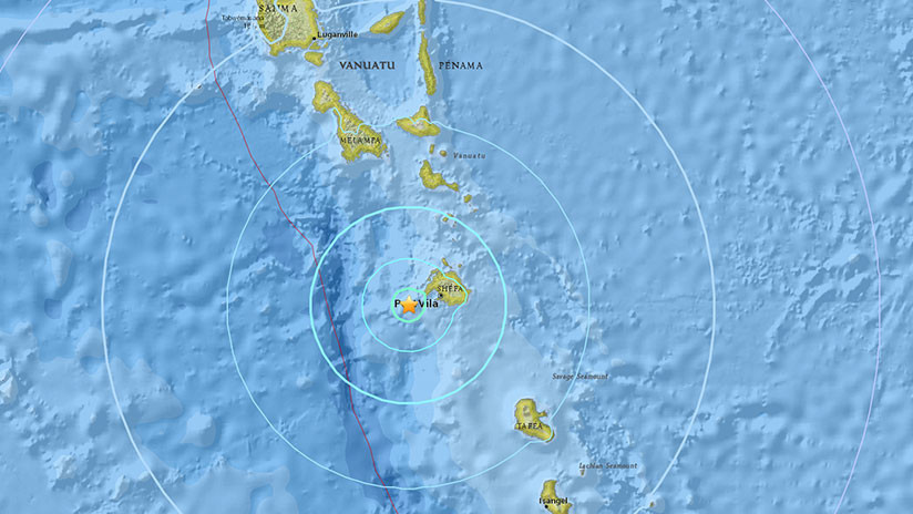 Un fuerte sismo de 6,1 sacude Vanuatu