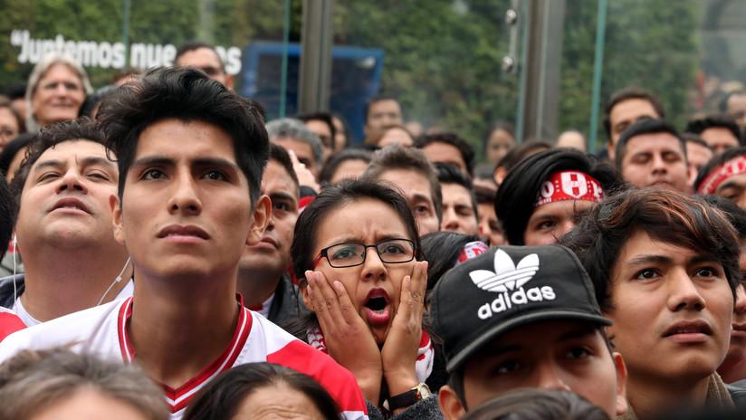 VIDEO: Se arma una batalla en un centro comercial de Perú tras la eliminación del Mundial