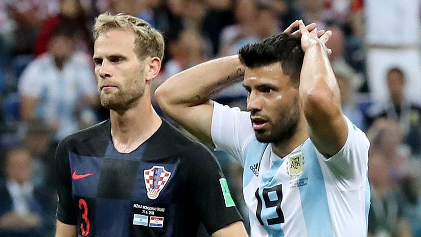 """'El Kun' Agüero sobre las palabras del técnico argentino tras la derrota: """"Que diga lo que quiera"""""""