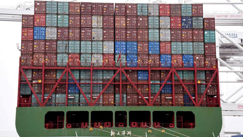 """Medios chinos condenan los """"delirios paranoicos"""" de EE.UU. ante el impacto de la guerra comercial"""