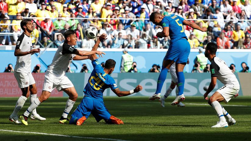 Brasil vence a Costa Rica y se jugará el pase a octavos contra Serbia