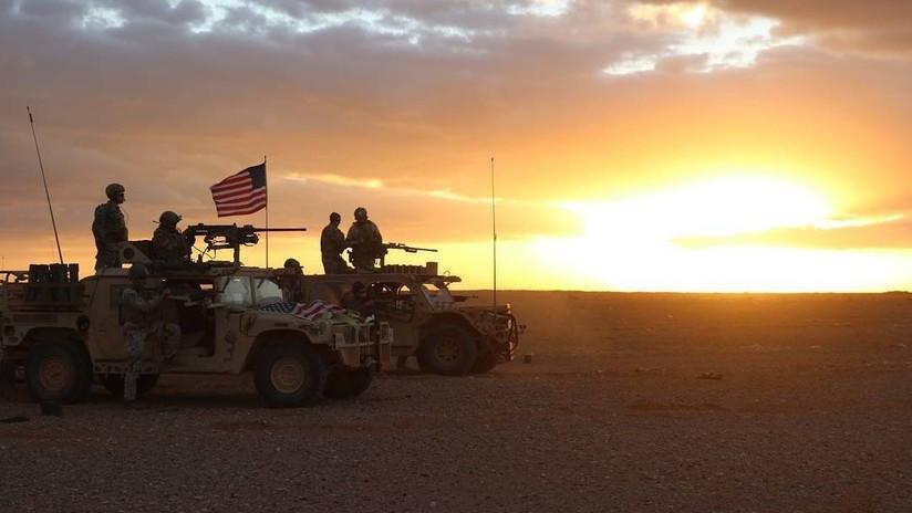 """Coalición de EE.UU. responde a ataque de """"fuerzas hostiles no identificadas"""" y mata a oficial sirio"""