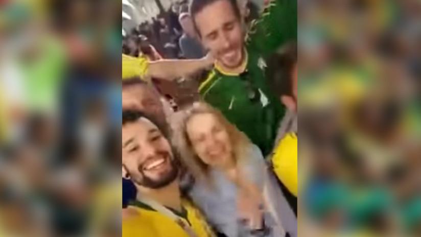 Fanáticos brasileños pierden sus trabajos luego de burlarse de mujeres rusas en el Mundial