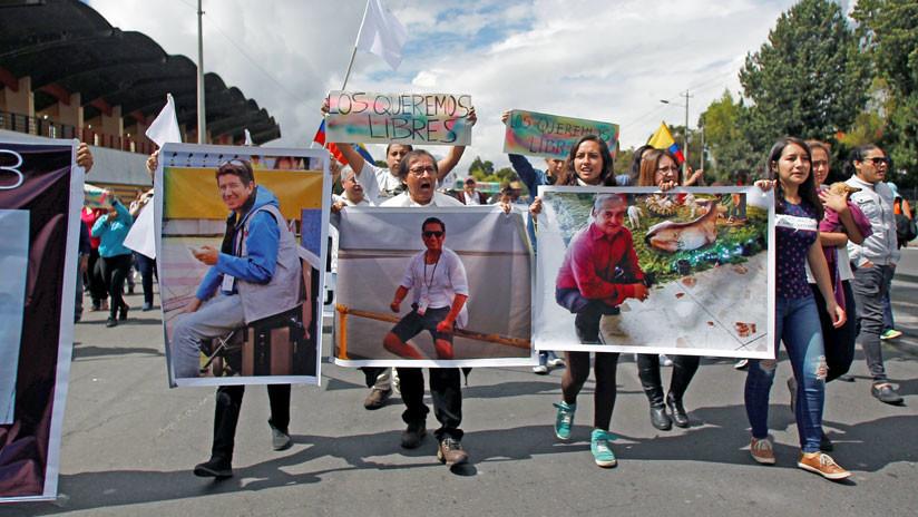 Ecuador envía delegación a Colombia para identificar cuerpos de periodistas asesinados en frontera