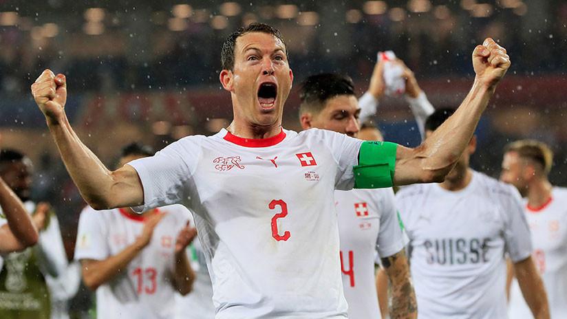Suiza derrota a Serbia en partido clave del grupo de Brasil