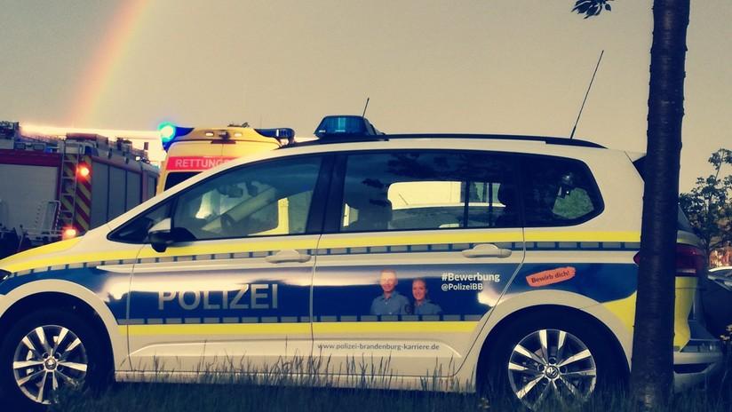 VIDEO: Policía alemana recrea un accidente de coche para ver cómo actúan los conductores