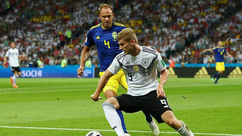Alemania empata ante Suecia y se aferra al Mundial de Rusia 2018