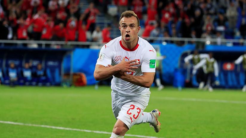 La FIFA abre un proceso disciplinario contra dos jugadores suizos tras unas polémicas celebraciones