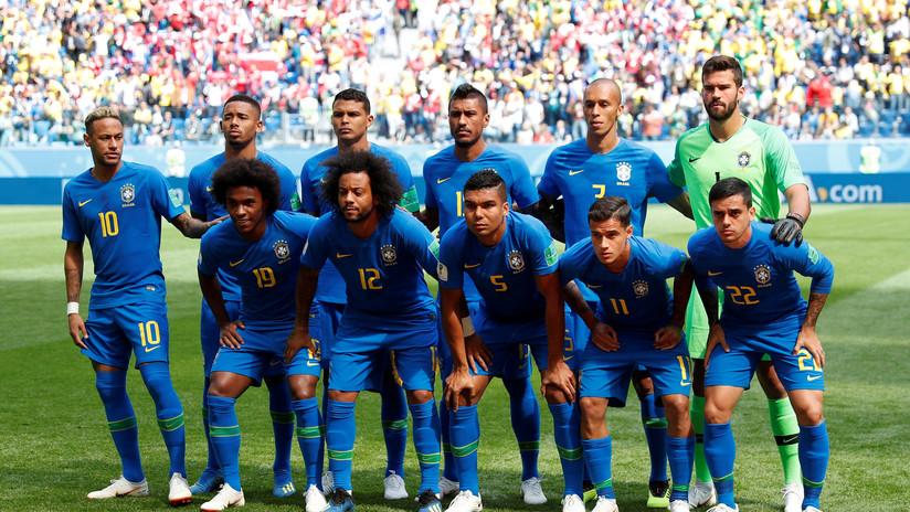 Brasil no contará con dos jugadores por lesión para el duelo final de la fase de grupos ante Serbia