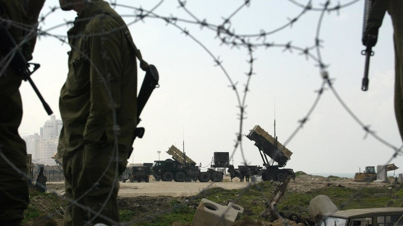 VIDEO: Ejército israelí dispara un misil Patriot contra un dron proveniente de Siria