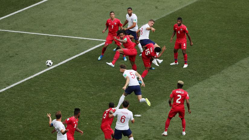Inglaterra anota el primer gol a Panamá y le complica la vida en el Mundial de Rusia