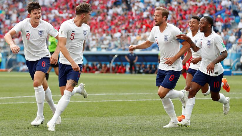 Inglaterra derrota o Panamá e elimina a Copa do Mundo de 2018
