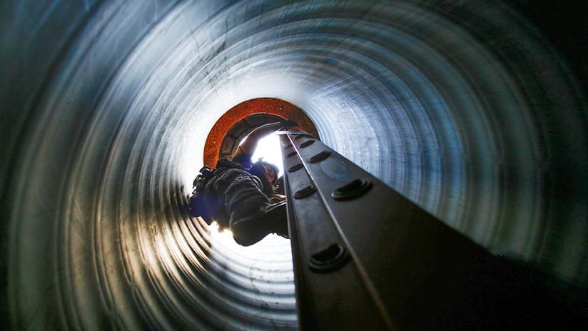 Encuentran en México un túnel para el robo de combustible