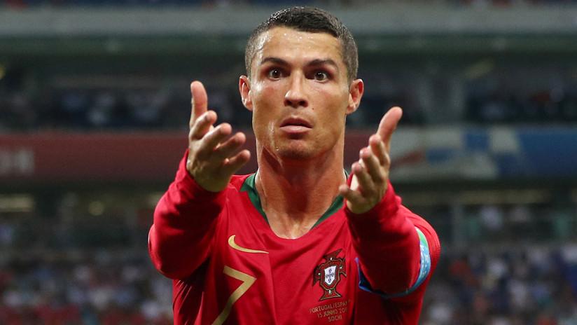 VIDEO: Cristiano Ronaldo ruega a los hinchas iraníes que le dejen dormir