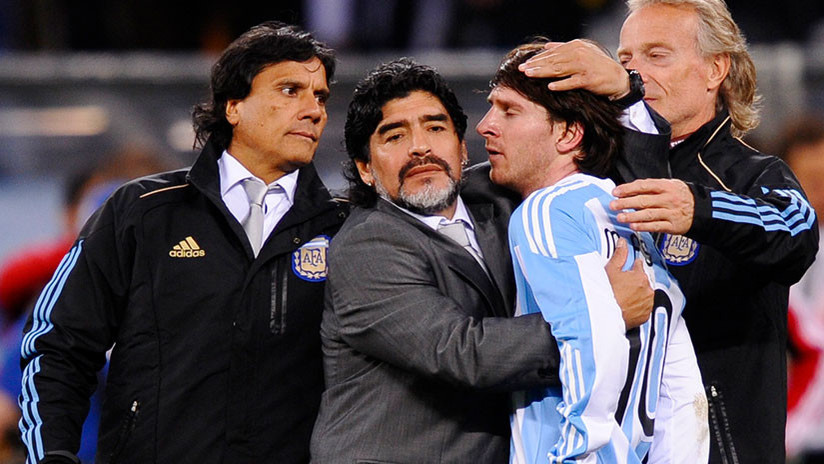 "Maradona a Messi: ""No sos culpable de nada"" (VIDEO)"