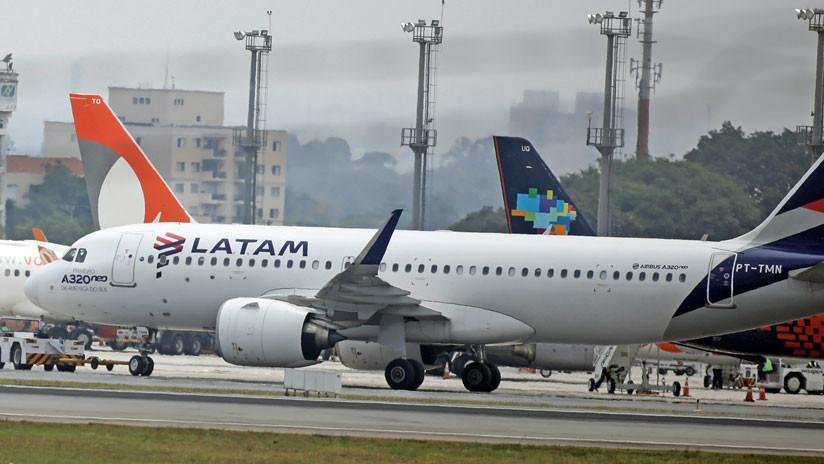 Latam y Sky cancelan sus vuelos en Argentina por la huelga general