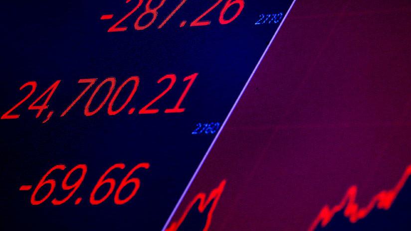 Dow Jones registra pérdidas de 1,34 % ante el temor a una guerra comercial