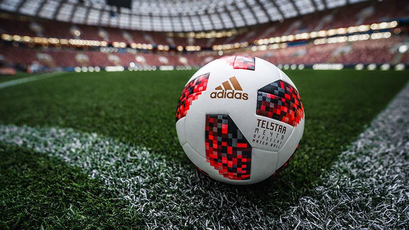 FOTOS: Muestran el balón del cuadro final de la Copa del Mundo Rusia 2018