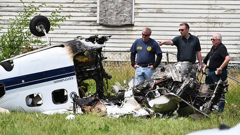 VIDEO: Un adolescente sobrevive a un accidente de avioneta en el que mueren sus padres