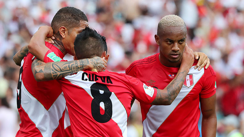 Perú gana 2-0 a Australia en su despedida del Mundial de Rusia