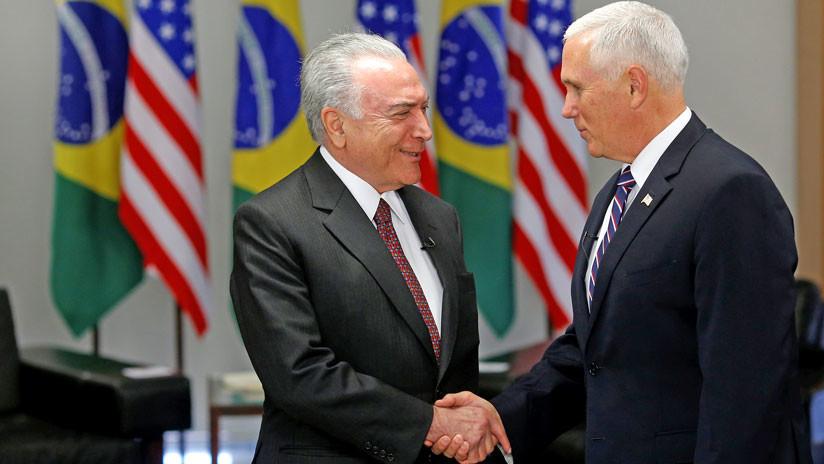 """Temer a Pence: """"Colaboraré"""" con traslado de niños brasileños separados de sus padres en EE.UU"""