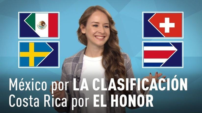 México - Suecia y Costa Rica - Suiza ¿Quién ganará?