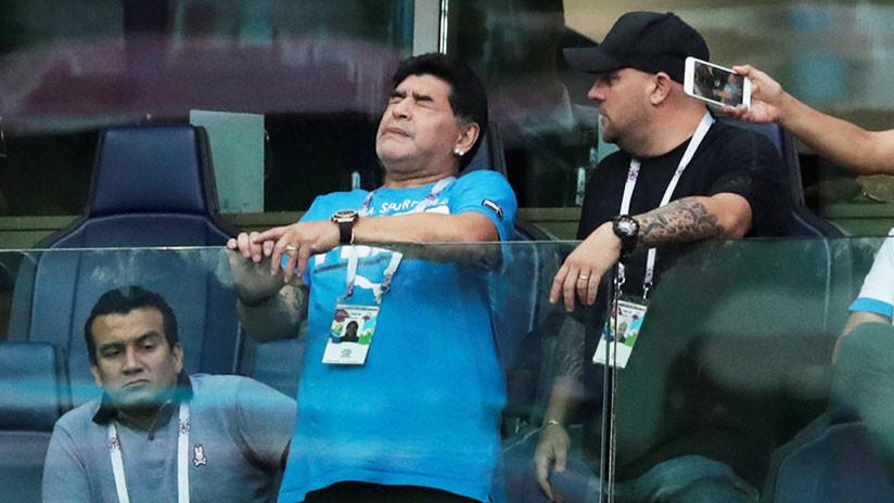 FOTOS: Maradona niega las informaciones de su descompensación reportadas por los medios