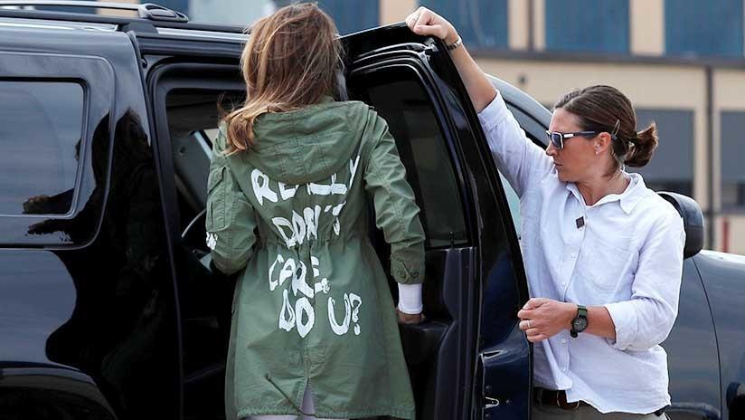 Se disparan los precios de las chaquetas de Zara como la que sacudió el escándalo con Melania Trump