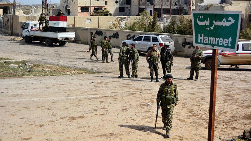 Más de 450 rebeldes se rinden al Ejército de Siria en Daraa