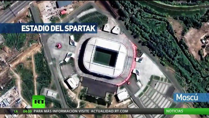 El Mundial desde el espacio: Vista satelital de las sedes del campeonato