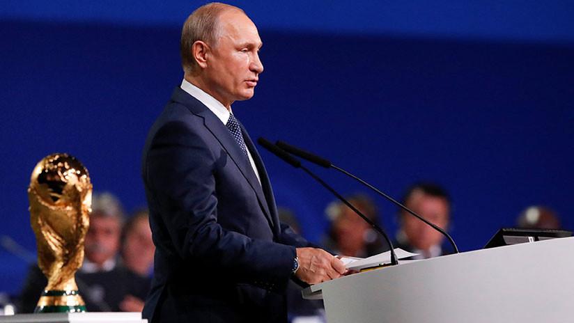 """Putin a Bolton: Rusia puede mostrar a EE.UU. cómo organizar un Mundial """"como es debido"""""""