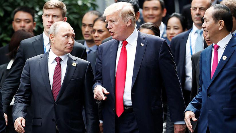 """Kremlin: """"La reunión entre Putin y Trump se celebrará en un tercer país"""""""