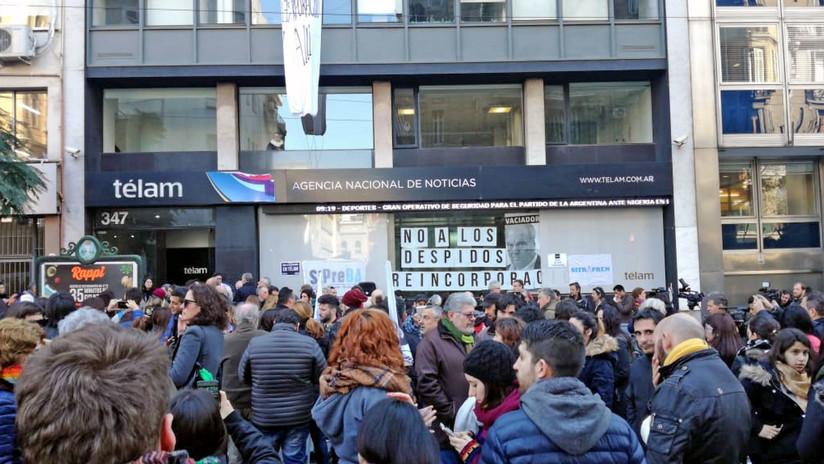 """""""El Gobierno de Argentina evidentemente quiere medios públicos cada vez más chicos"""""""