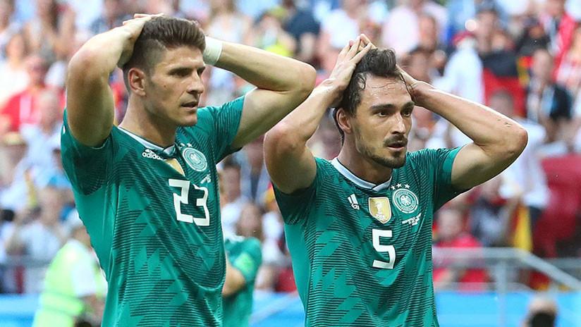 La vigente campeona del mundo perdió por 2-0 contra Corea del Sur en el Kazán Arena y abandona el Mundial de Rusia sin coneguir pasar de la fase de grupos.