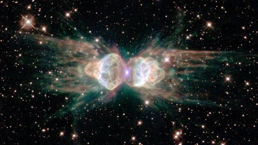 Descubren una extraña nebulosa que 'dispara' láseres