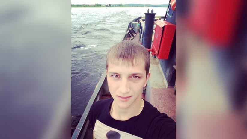 Joven siberiano nada un kilómetro en la oscuridad para rescatar a una chica de las aguas de un río