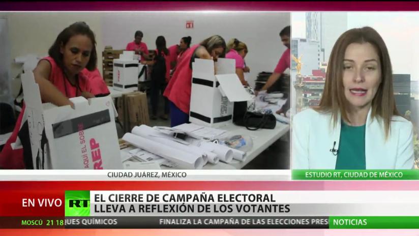 México cierra su campaña electoral y comienza la reflexión de los votantes