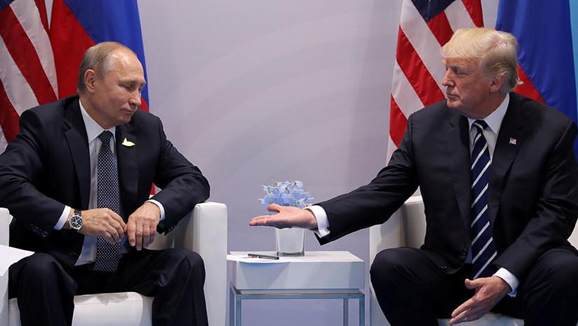 Trump anuncia que se reunirá con Putin durante su visita a Europa