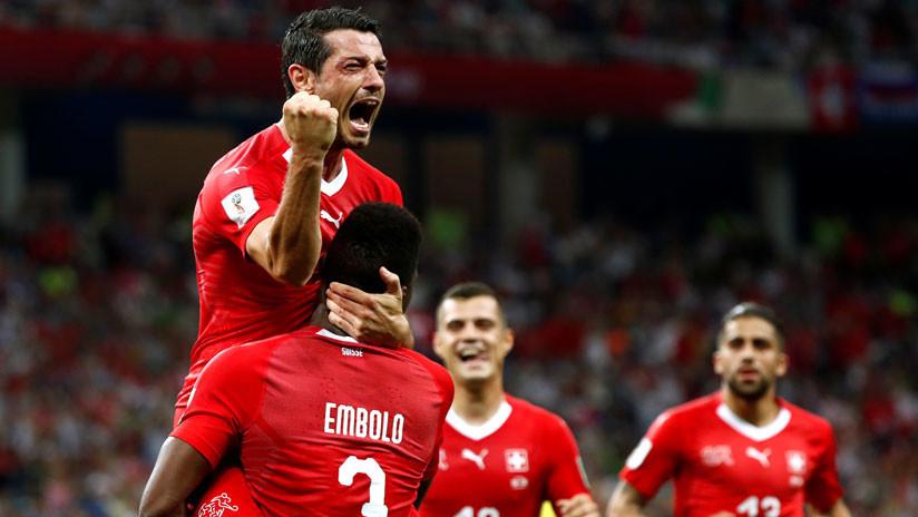 Suiza se asegura la clasificación a octavos de final al empatar con Costa Rica