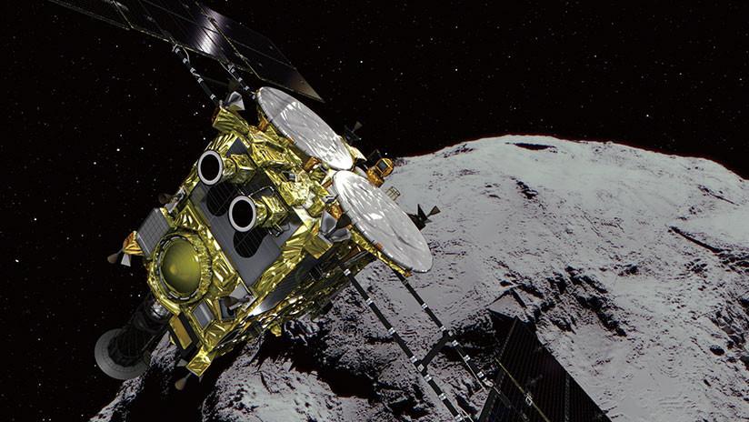 Una sonda espacial japonesa llega a un asteroide tras un viaje de tres años y medio