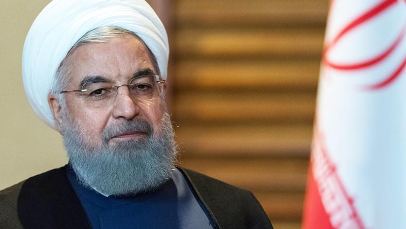 """""""No cederemos"""": El presidente de Irán promete """"poner a EE.UU. de rodillas"""""""