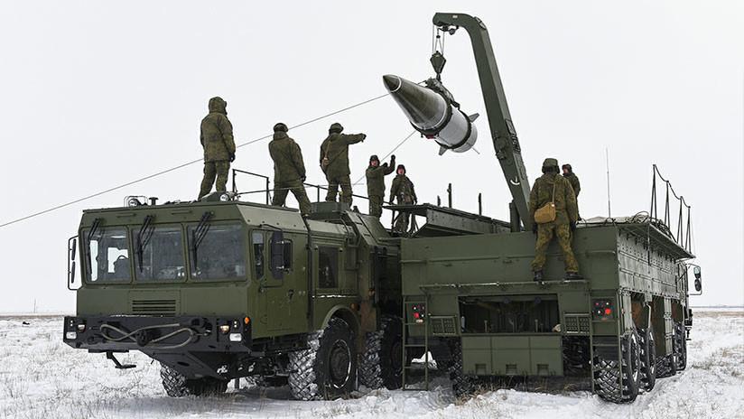 """Moscú: """"EE.UU. se está preparando para salir del Tratado sobre Misiles de Alcance Medio y Corto"""""""