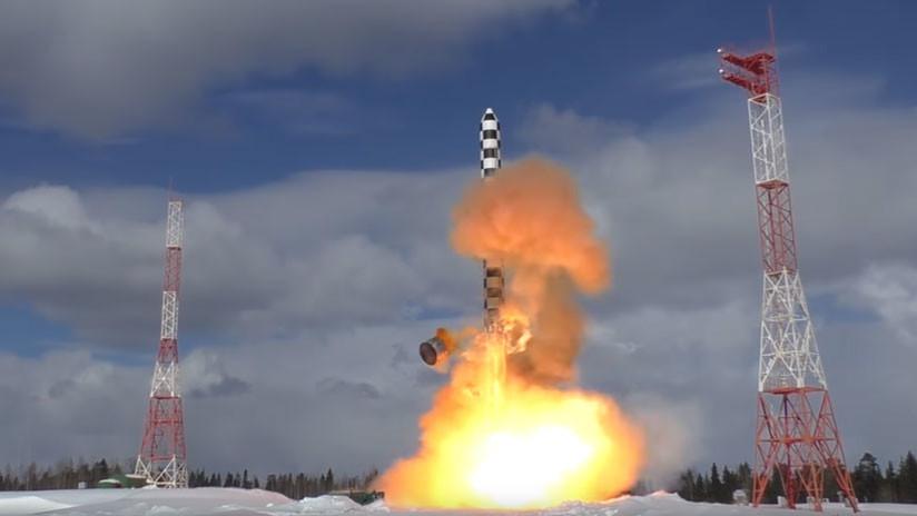 Putin: El ejército ruso recibe dentro de un año misiles intercontinentales Sarmat