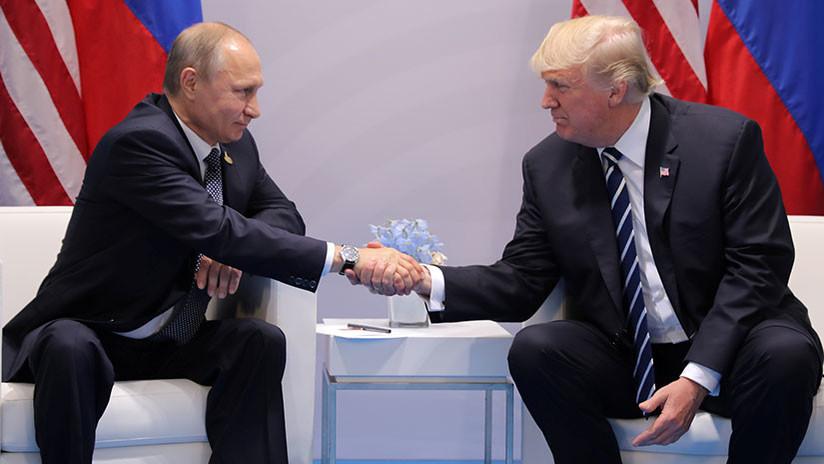 Putin y Trump se reunirán en Helsinki el 16 de julio