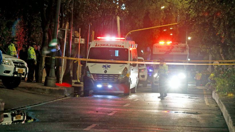 FUERTES IMÁGENES: Un fuerte choque entre un taxi y una moto deja una mujer muerta (VIDEO, FOTOS)