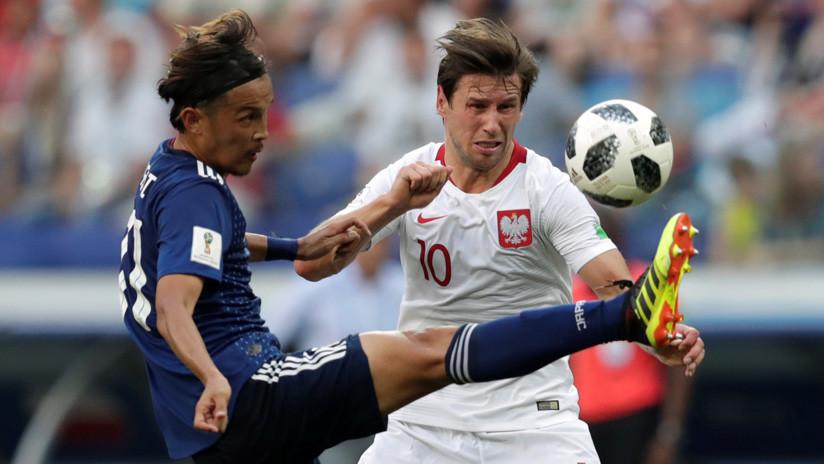 Japón pasa a octavos pese a perder por 0-1 ante Polonia, que se despide del Mundial