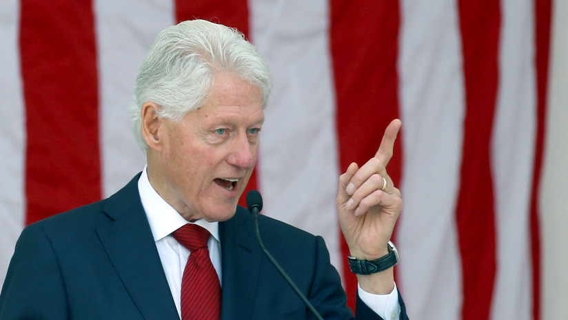 Bill Clinton: Trump ha derramado veneno por la garganta de Estados Unidos