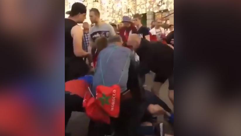 """""""¡Trankilovsky!"""": Aficionado mexicano se inventa un curioso vocablo para detener una pelea (VIDEO)"""
